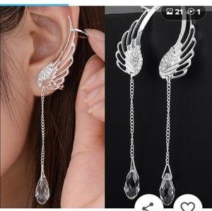 NWT ANGEL WING EARRINGS